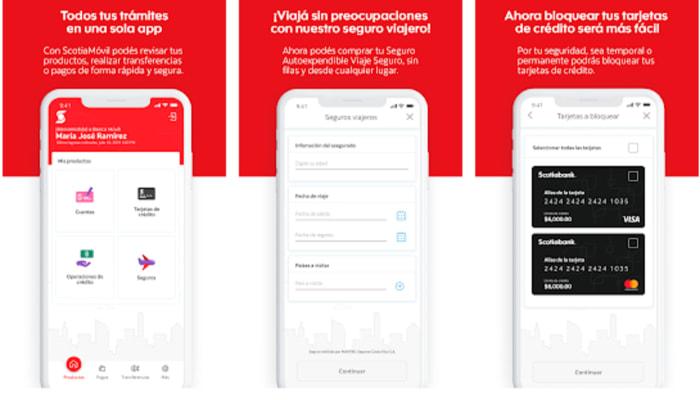 App banca movil Scotiabank