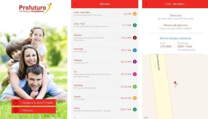 App de Afp Profututro