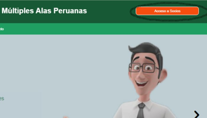 Consultar estado de cuenta Alas Peruanas