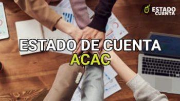 Estado de Cuenta Acac