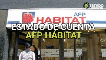 Estado de Cuenta Afp Hábitat