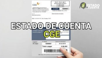 Estado de Cuenta CGE