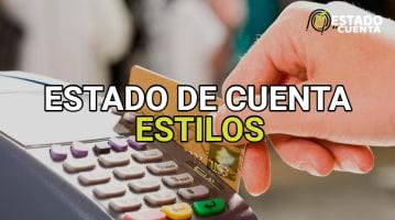 Estado de Cuenta Estilos