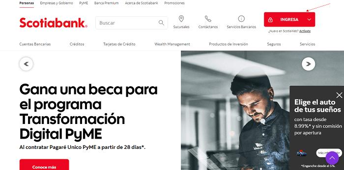 Estado de Cuenta Scotiabank web