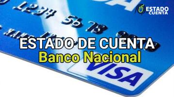 Estado de Cuenta del Banco Nacional