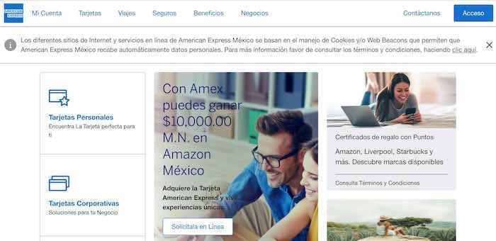 Estado de cuenta American Express 1