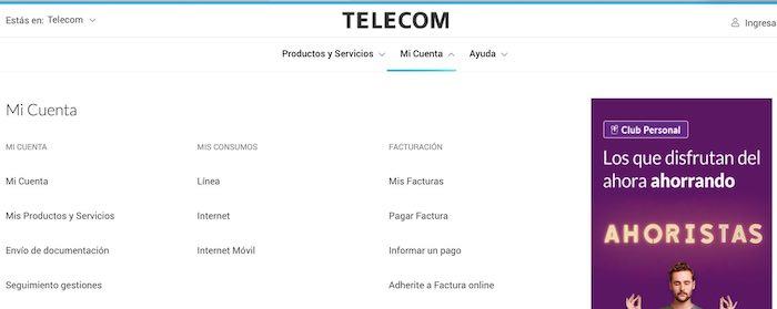 Estado de cuenta Telecom 3