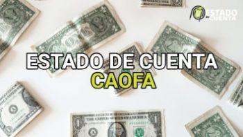Estado de cuenta caofa