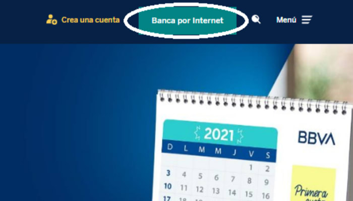 Ingresar a consultar estado de cuenta BBVA Perú