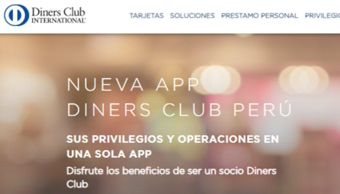 como consultar estado de cuenta Diners Perú