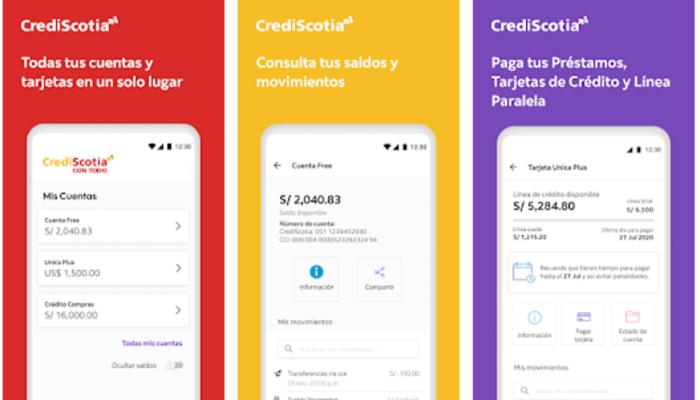 consultar estado de cuenta Crediscotia por App